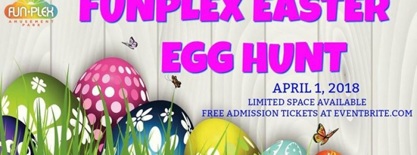 2nd Annual Funplex Easter Egg Hunt