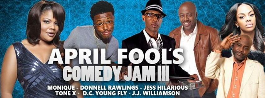April Fool's Comedy Jam III