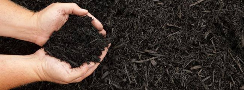 Black Dyed Mulch Sales Event