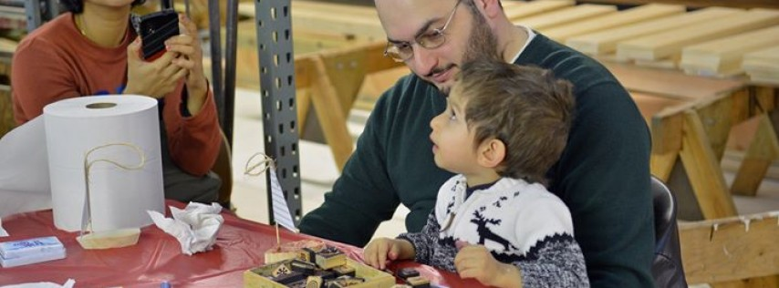 Father's Day in the Workshop