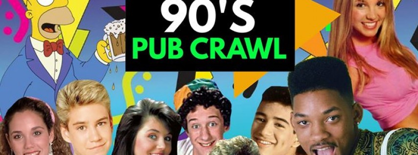 Seattle 90s Pub Crawl