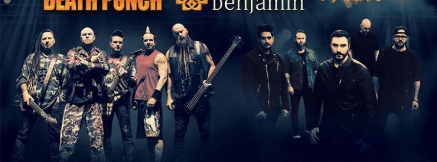 Five Finger Death Punch And Breaking Benjamin
