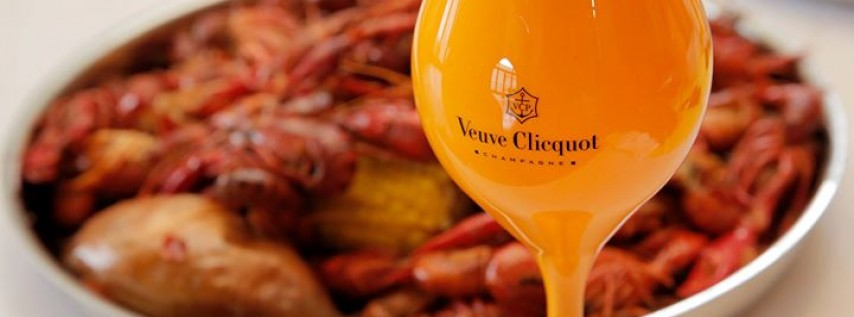 Mudbugs and Bubbles: Veuve Cliquot Special Edition