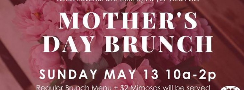 Celebrate Mother's Day at LouVino!