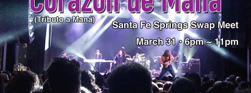 Corazón de Maná • Vivo en Santa Fe Springs!