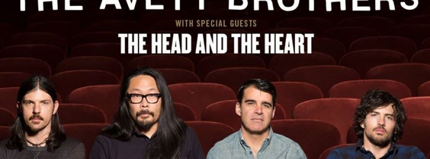 The Avett Brothers with special guests The Head and The Heart