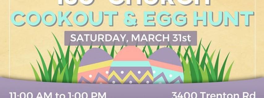 Cookout & Egg Hunt
