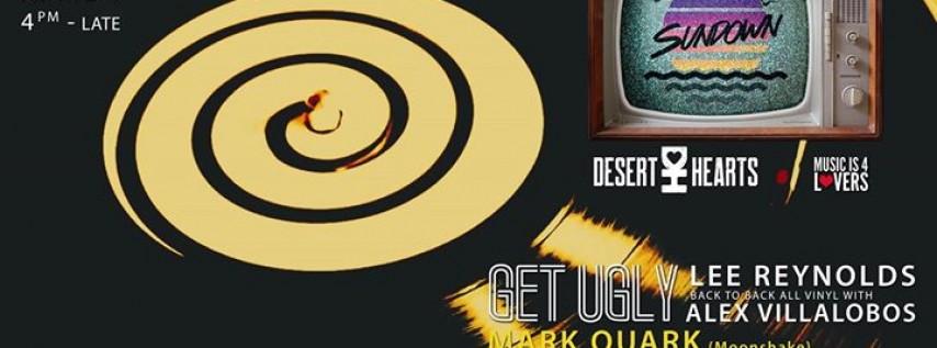 Sundown w/ Get Ugly (Lee Reynolds + Alex Villalobos), Mark Quark
