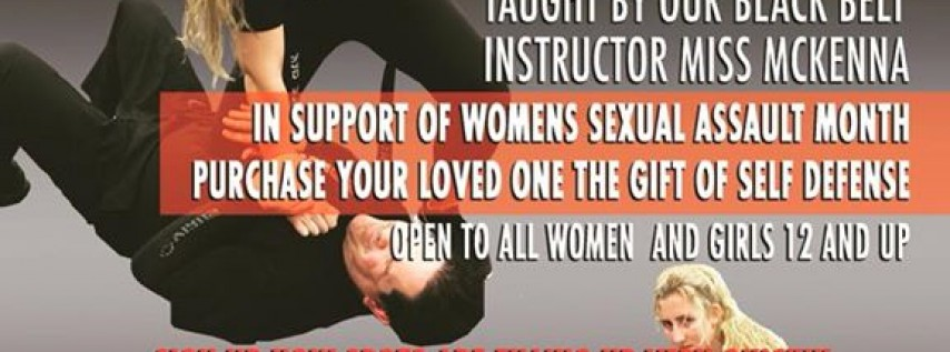 Woman's Self Defense Seminar Don't be a victim. Fight back!