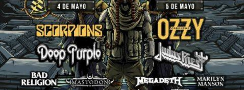 Hell and Heaven fest // Viaje desde MTY y Saltillo by Rock Tours
