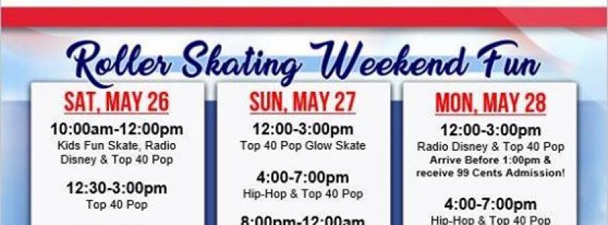 $1.00 Memorial Day Roller Skating