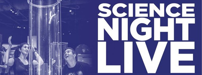 Adults Only Science Night Live