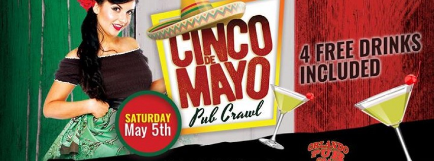 The Cinco De Mayo Pub Crawl