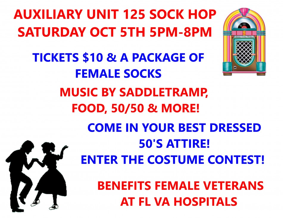 Auxiliary Unit 125 Sock Hop