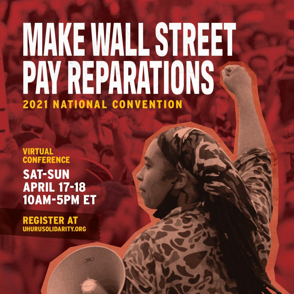 Make Wall Street Pay Reparations - USM Nat'l Convention