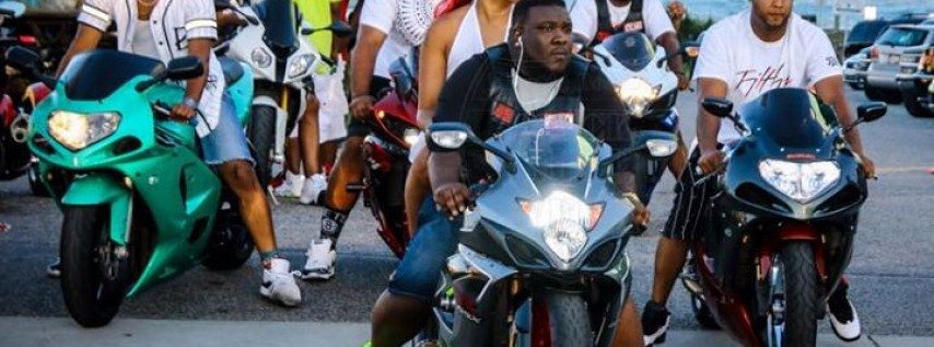 Black Bike Week South Beach Miami
