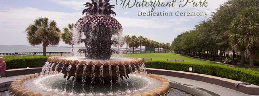 Joe Riley Waterfront Park Dedication