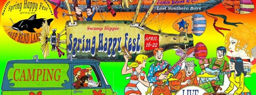 Swamp Hippie Spring Happy Fest