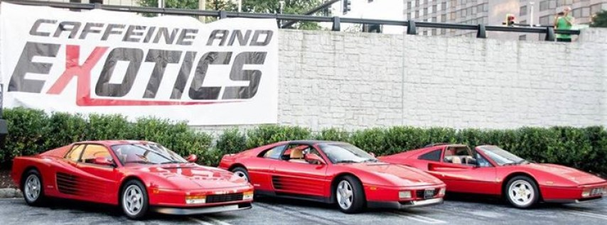 Caffeine And Exotics Car Show Atlanta GA Apr AM - Car show atlanta ga