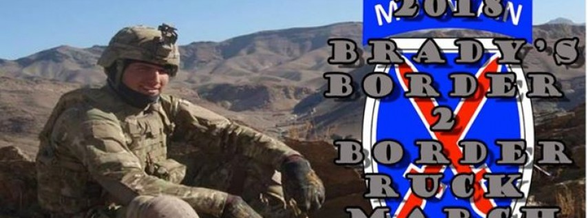2018 Brady's Border 2 Border Ruck March