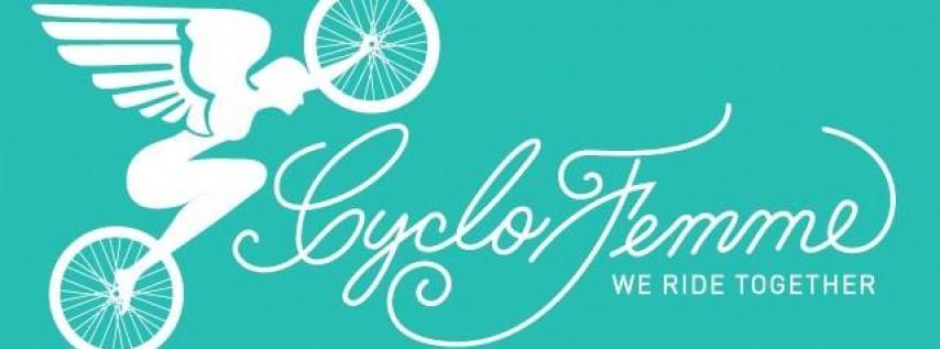 2018 Cyclofemme Ride with UpaDowna