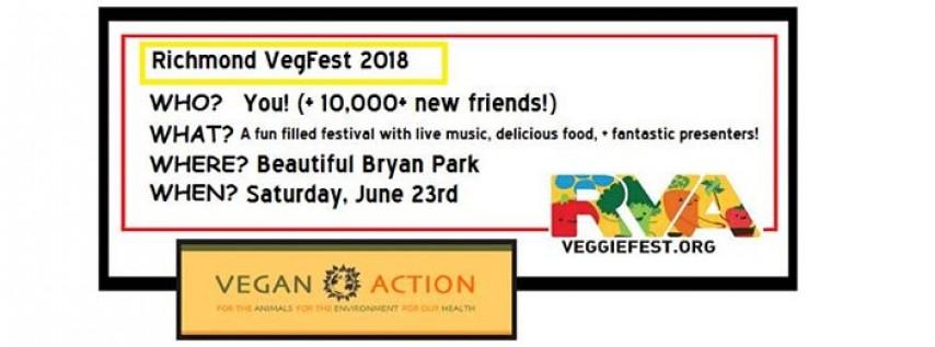 Richmond VegFest - Saturday, June 23rd!
