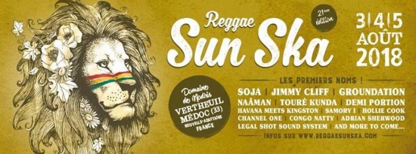 Reggae Sun Ska Festival 3, 4, & 5 août 2018