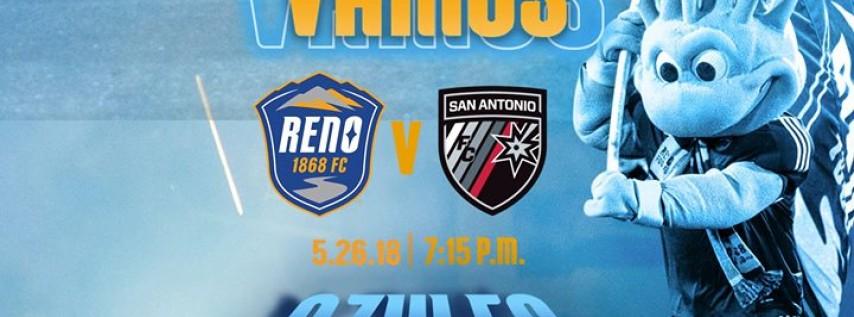 Reno 1868 FC v San Antonio FC