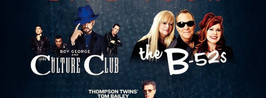 The Life Tour - Culture Club & The B-52s