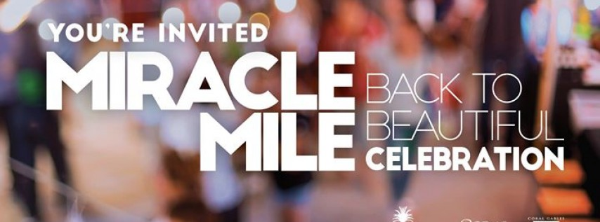 Miracle Mile Back to Beautiful Block Party