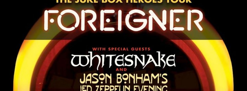 Foreigner - The Juke Box Heroes Tour