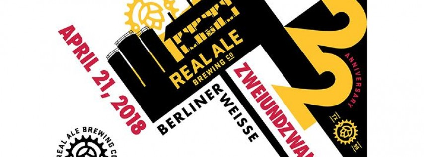 Save the date for Real Ale's 22nd Birthday!