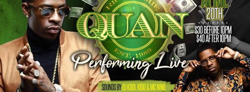RICH HOMIE QUAN Performing Live @ Club Tabu April 20th in Killeen Tx