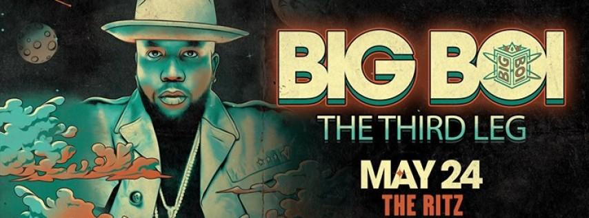 Big Boi - Daddy Fat Saxx Tour The Third Leg - Tampa