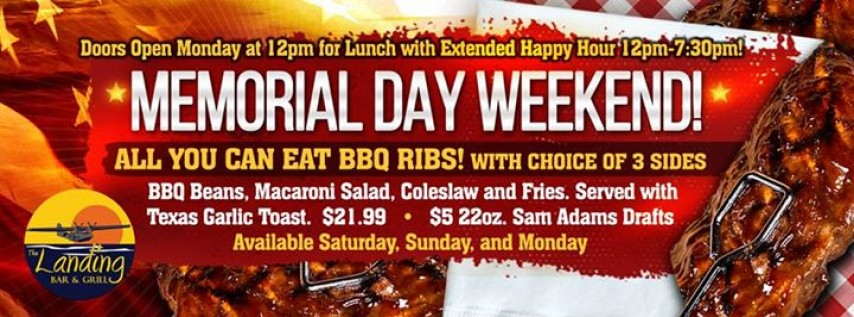 All You Can Eat Ribs Memorial Weekend