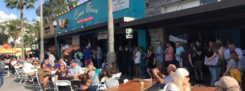 Casa Tina's 26th Cinco de Mayo Fiesta street party!