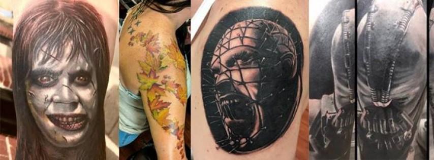 Sacred Rites Tattoo BBQ.