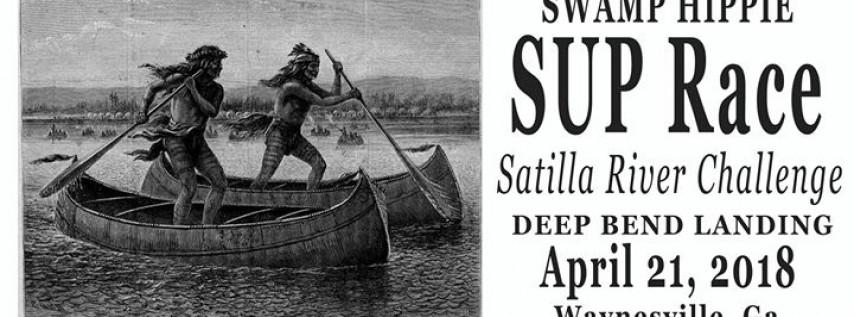 Swamp Hippie-SUP Race-Satilla River Challenge