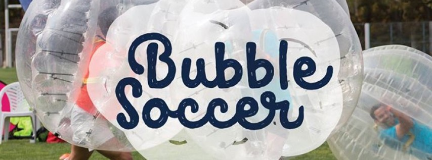 Bubble Soccer on the Jekyll Island Beach Village Green