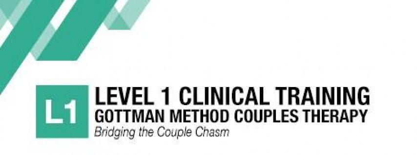 Gottman Method Couples Therapy: Level 1 Training