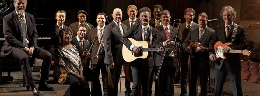 Lyle Lovett And His Large Band at John T. Floore Country Store