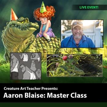 Aaron Blaise Art & Animation Masterclass