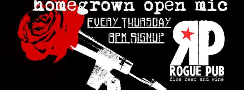 Homegrown Open Mic at Roque Pub