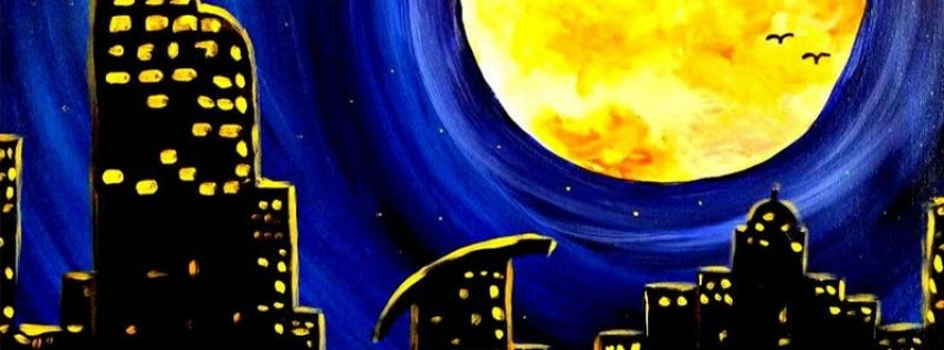 Paint Wine Denver Moonlit Denver Sat June 16th 7pm $40
