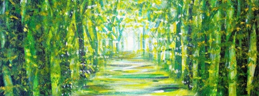 Paint Wine Denver Narnia Forest Thurs May 3rd 6:30pm $35
