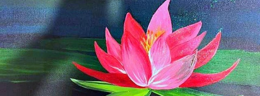 Paint Wine Denver Lotus Blossom Sun May 27th 1:30pm $25