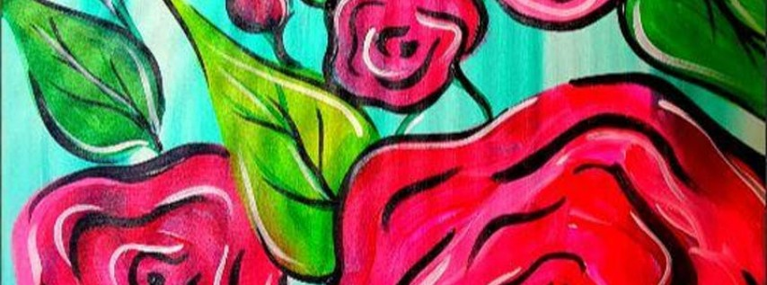 Paint Wine Denver Roses for Mom Sun May 13th 1:30pm $25