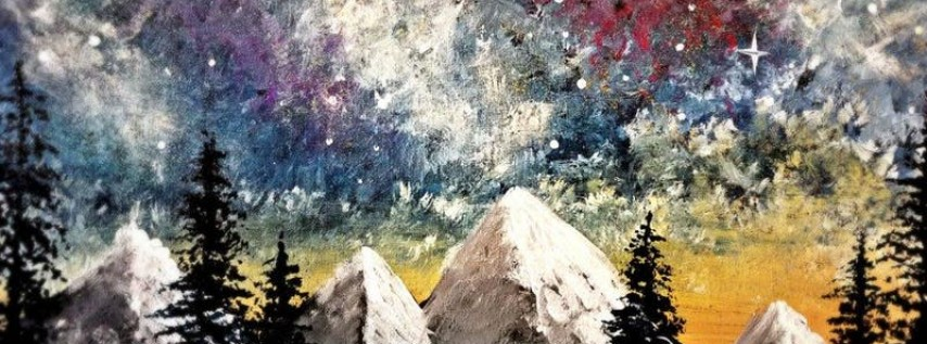 Paint Wine Denver Northern Lights Fri May 25th 6:30pm $35