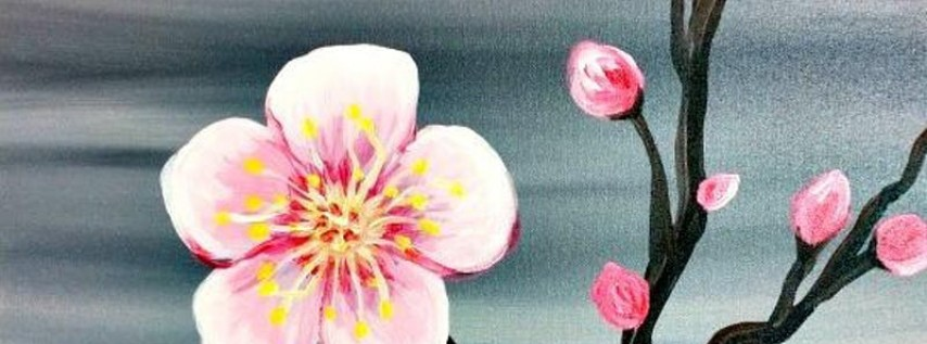 Paint Wine Denver Cherry Blossoms Wed May 30th 6:30pm $35