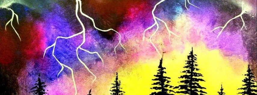 Paint Wine Denver Lightning Strikes Sat May 26th 7pm $40